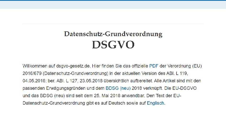 DSGVO-Verstoß: Klagen gegen Bußgeld lohnt